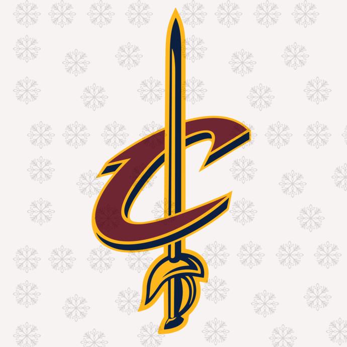 Cleveland Cavaliers,NBA svg, basketball svg file, basketball logo,NBA fabric,