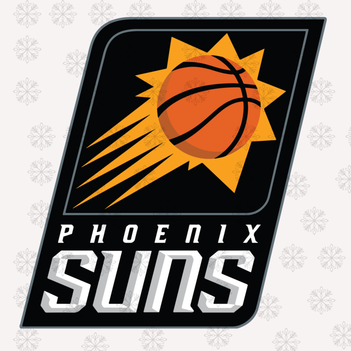 Phoenix Suns,NBA svg, basketball svg file, basketball logo,NBA fabric, NBA