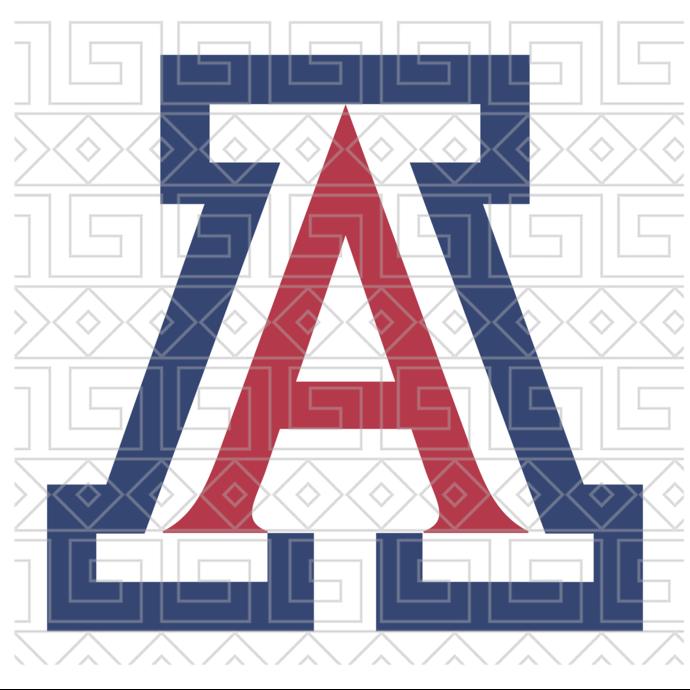 Arizona wildcats svg,football svg,football gift,arizona wildcats,arizona