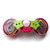 Pop Art Button Barrette FREE US Shipping
