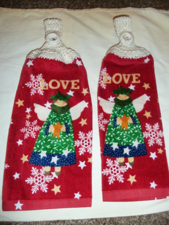 Angel Love Design Kitchen Hanging Towels Med Quality