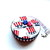 Tape Measure Red White and Blue Top Hats Small Retractable Measuring Tape