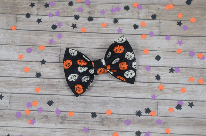Avery Bow - Halloween Collection - Jack-o-Lantern