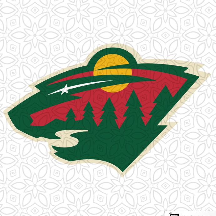 Minnesota Wild,NHL svg, hockey svg file, hockey logo,NHL fabric, NHL hockey,NHL