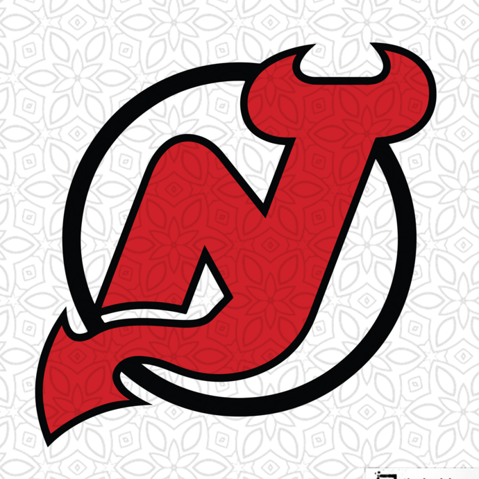 New Jersey Devils,NHL svg, hockey svg file, hockey logo,NHL fabric, NHL