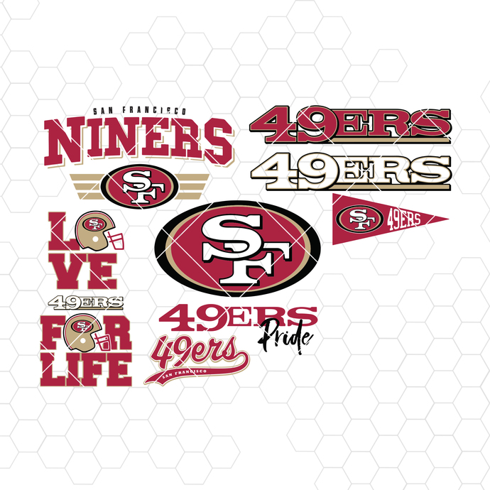San Francisco 49ers Svg San Francisco 49ers By Misanyc On Zibbet