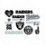 Oakland Raiders SVG, Oakland Raiders files, raiders logo, football, silhouette