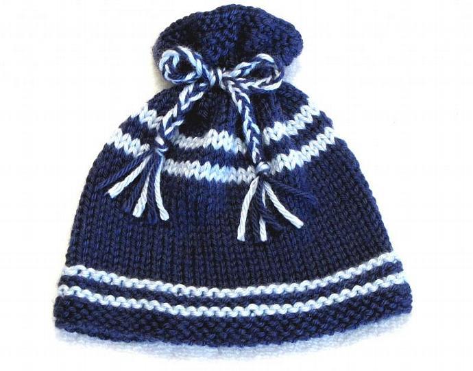 Knitting Pattern Newborn Ez Knit Baby Hat Ezcareknits