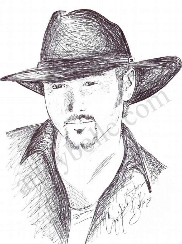 Tim McGraw, Fan Art Card