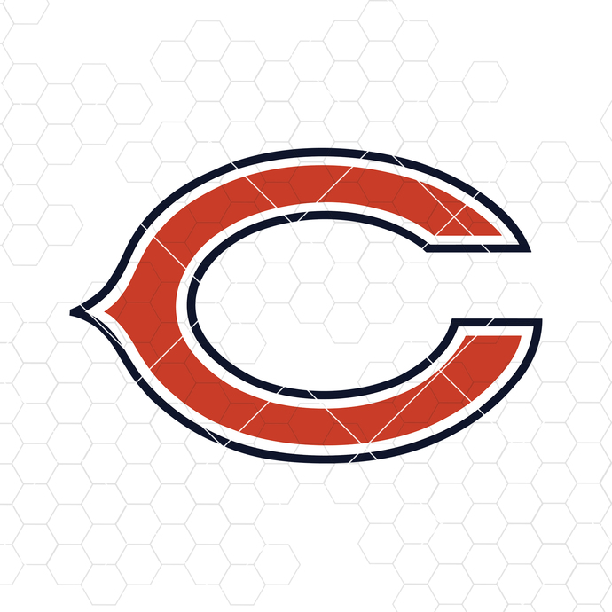 Chicago Bears Digital Cut Files Svg, Dxf, Eps, Png, Cricut Vector, Digital Cut