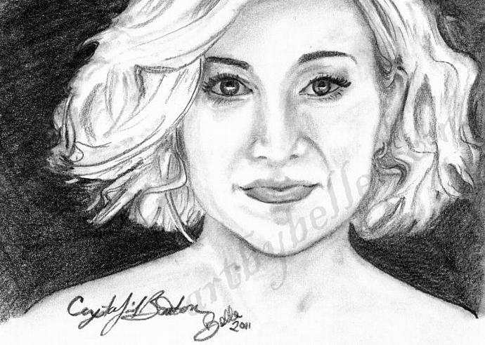 Kellie Pickler, Fan Art Card