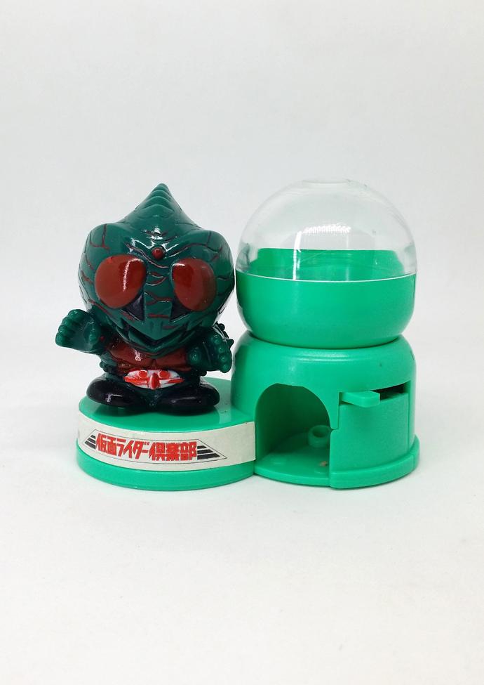 1992 Masked Rider Amazon Mini Candy Dispenser - RARE Banpresto Japanese Anime