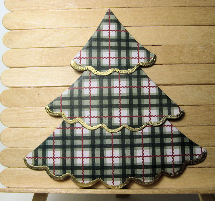 7pc Christmas Tree Cutting Die Set