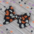 Large Lizzy Bow - Halloween Collection - Jack-o-Lantern
