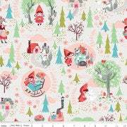 Little Red in the Woods in Cream by Riley Blake Designs - You choose the cut