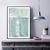 Mint Decor , mint green Printable Art, Modern Abstract Art , Minimalist Painting