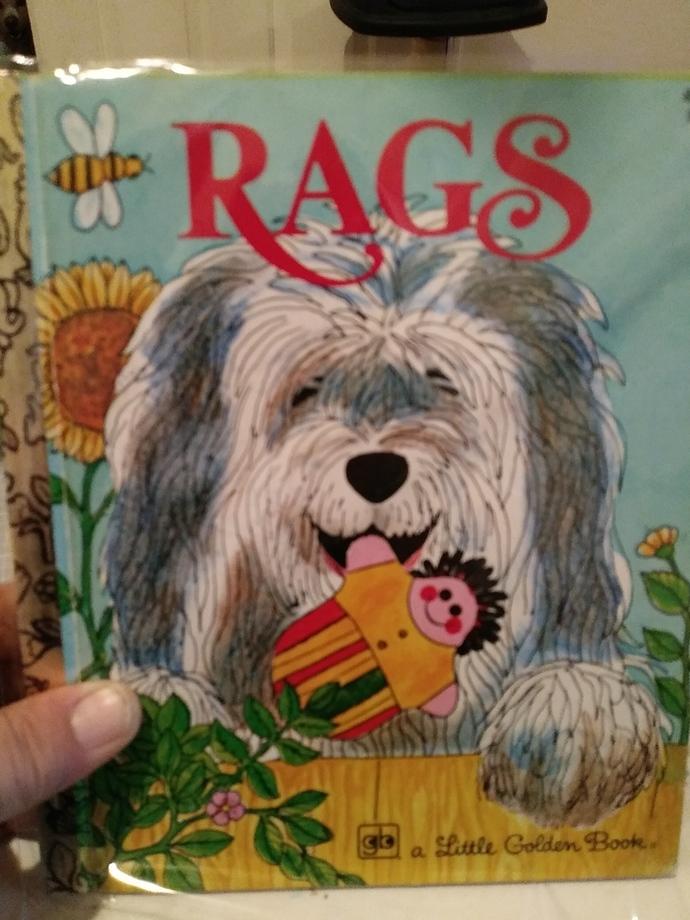 Rags Little Golden Book