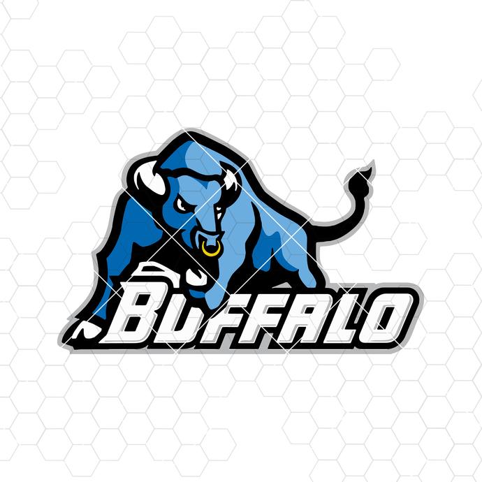 Buffalo Digital Cut Files Svg, Dxf, Eps, Png, Cricut Vector, Digital Cut Files