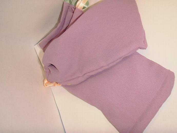 Lilac Gift Bags- drawstring SET of 3