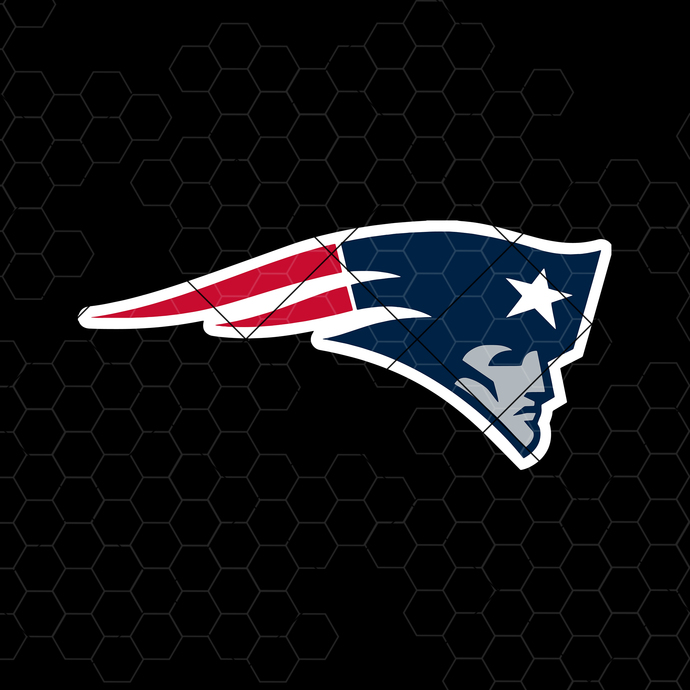 New England Patriots Digital Cut Files Svg, Dxf, Eps, Png, Cricut Vector,