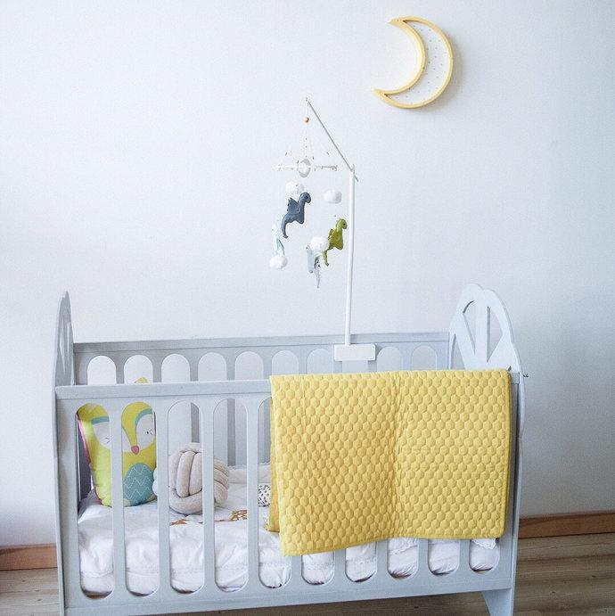 Baby mobile arm - Baby mobile hanger - Baby crib mobile - Crib mobile arm -