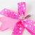 Pink Princess Acrylic Star Charm with Bow, Kawaii Charms, Pet Accessories, Photo