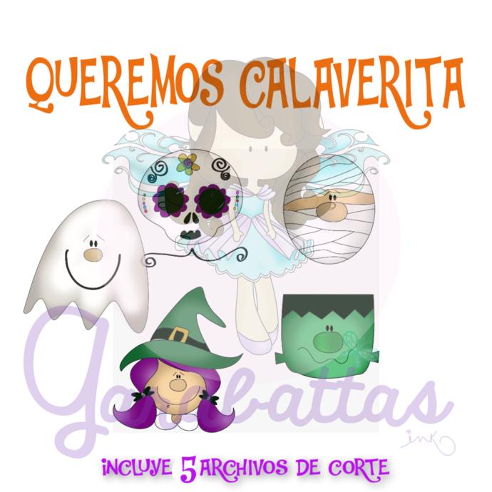 ARCHIVOS DE CORTE  QUEREMOS CALAVERITA