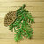3pc Pine Cone and Branch Metal Cutting Die Set