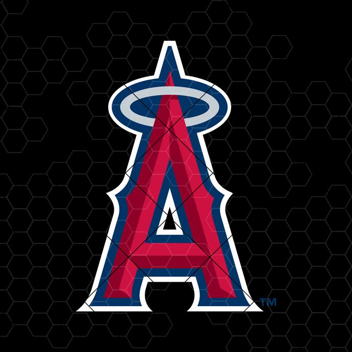 Los Angeles Angels Digital Cut Files Svg, Dxf, Eps, Png, Cricut Vector, Digital