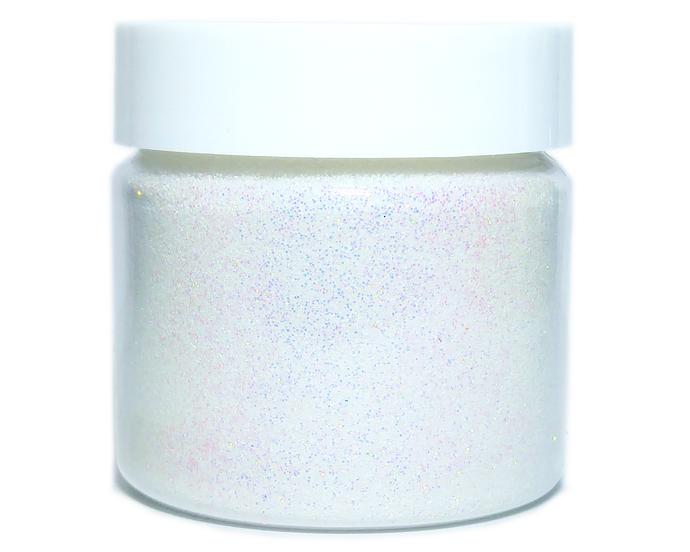 Snow Angel - Fine, White Iridescent Loose Cosmetic & Craft Glitter