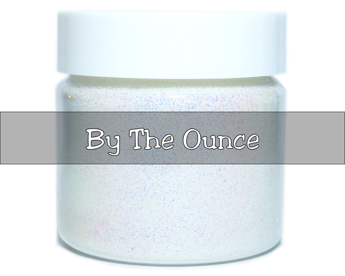 Snow Angel - Fine, White Iridescent Loose Cosmetic & Craft Christmas Glitter