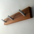 Modern Wood Coat Rack