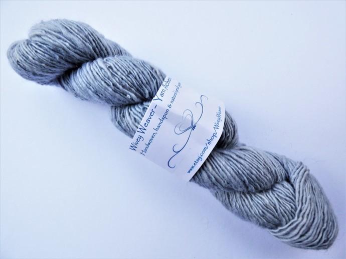 Handspun Yarn – 100% Blue Faced Leicester Wool – 48 grams – Sport Weight –