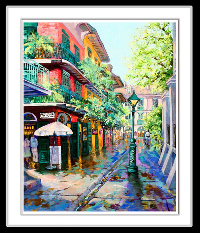 New Orleans French Quarter Cross Stitch Pattern***LOOK***X***INSTANT DOWNLOAD***
