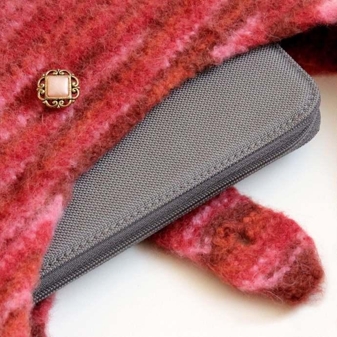 Shoulder Bag, Felted Tablet Pouch