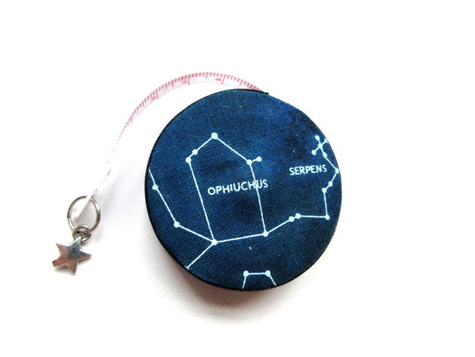 Tape Measure Stars in Constellations Retractable Tape Measure