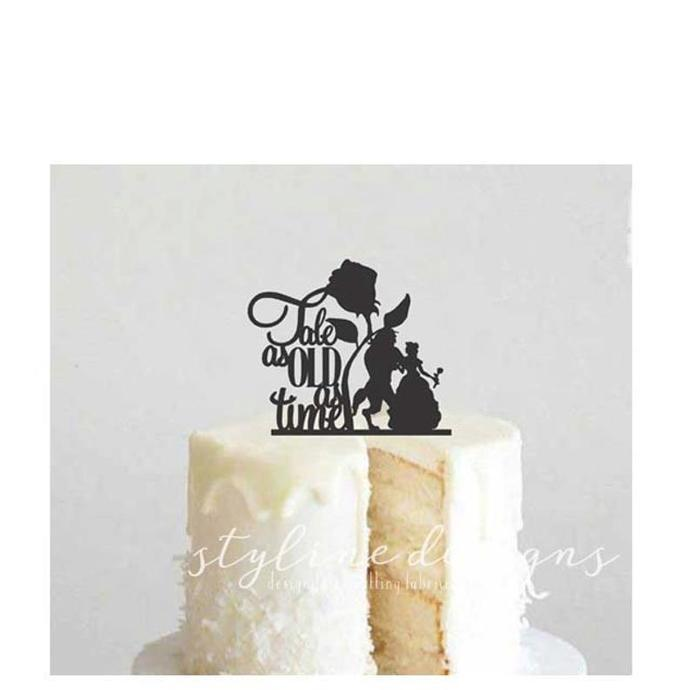 Tale as Old as Time Wedding Laser Cut Sign or Topper