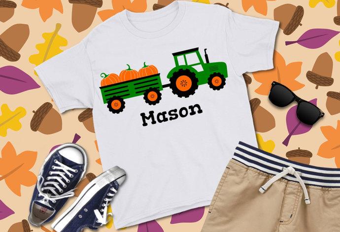 Tractor svg, Tractor clip art, Pumpkin svg, Pumpkin clip art, Fall svg, Fall
