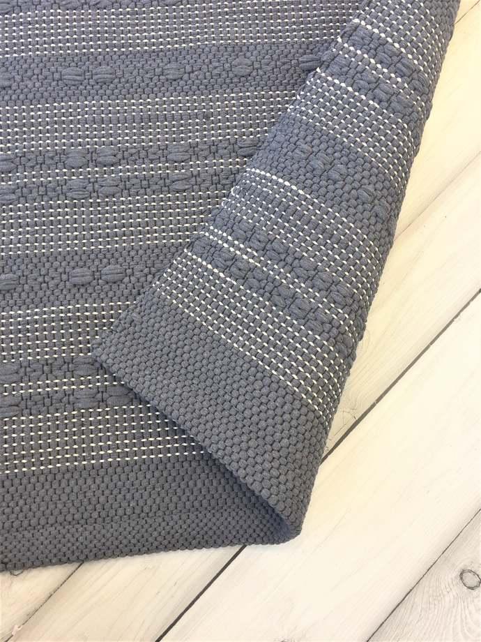 Runner rug, kitchen rug, Scandinavian rug, Nordic rug, dark gray rug, floor rug,