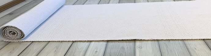 Multiple colors long hallway runner rug, Scandinavian washable corridor cotton