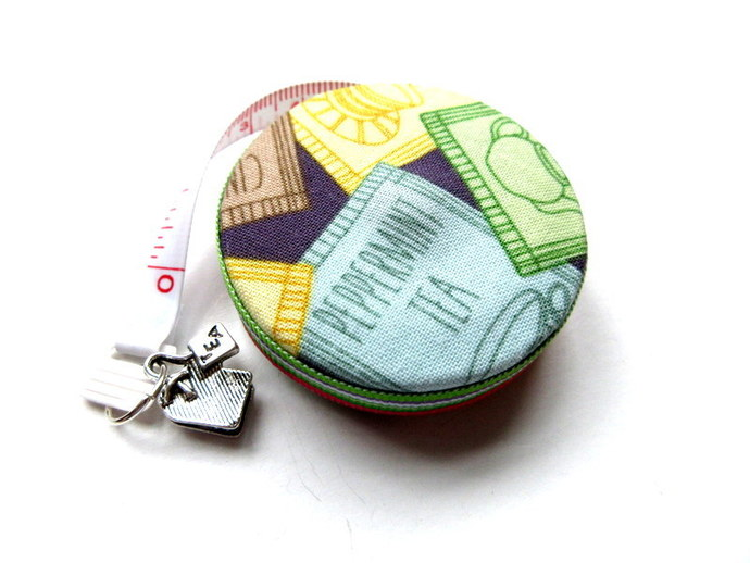 Measuring Tape Tea Party Small Retractable Tape Measure