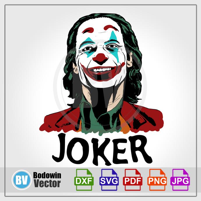 Joker SVG / Instant Download / Digital Clipart / Cutting Files / Cricut /