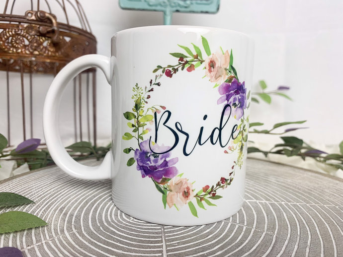 Bridal Party Coffee Mugs Bridesmaid Gift Bridal Party Gift mother of the bride