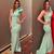 Dubai Arabic Sage Simple Stain Mermaid Prom Dresses Long One Shoulder Sweep
