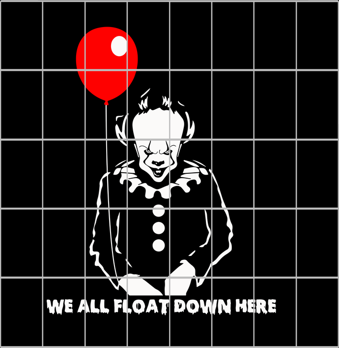 We all float down here png,we all float down here svg,we all float down