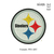 custom embroidery design Steelers Logo embroidery Design  Football Embroidery