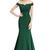 Elegant Long Formal Evening Dresses For Women Off Shoulder Mermaid Backless Prom