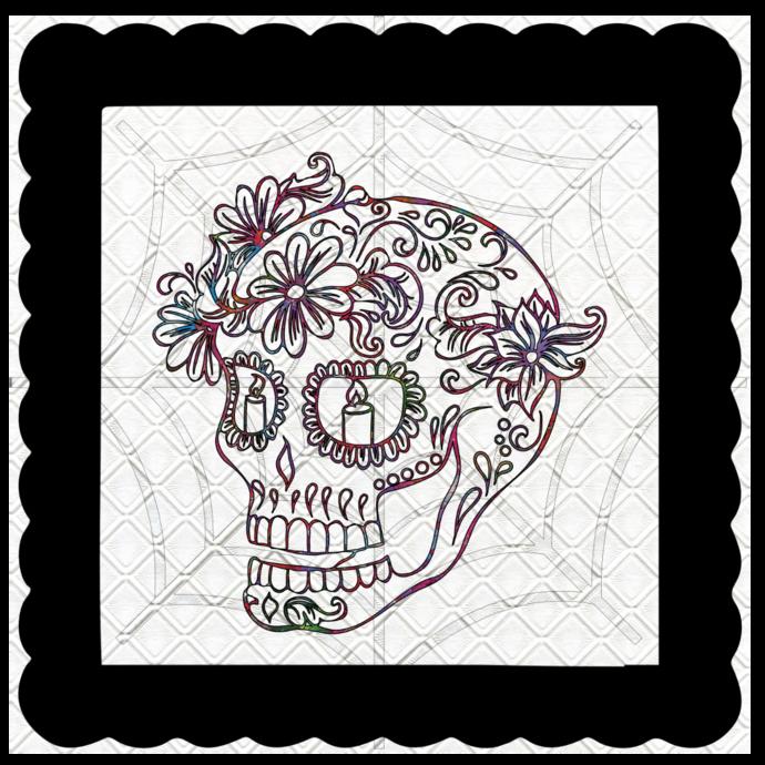Skull 2b-Digital Kit-Jewelry Tag-Clipart-Gift Tag-Holiday-Digital