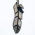 """""""Osprey Power,"""" Stained Glass Meditation Feather with Obsidian"""