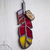 """""""Jophiel,"""" Stained Glass Meditation Feather with Citrine"""